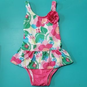 Gymboree Swimsuit (Floral)